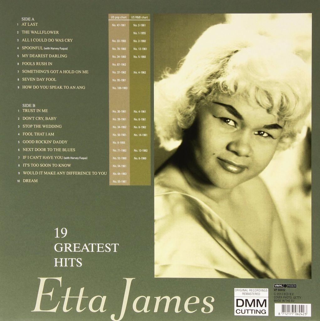 Etta james lyrics