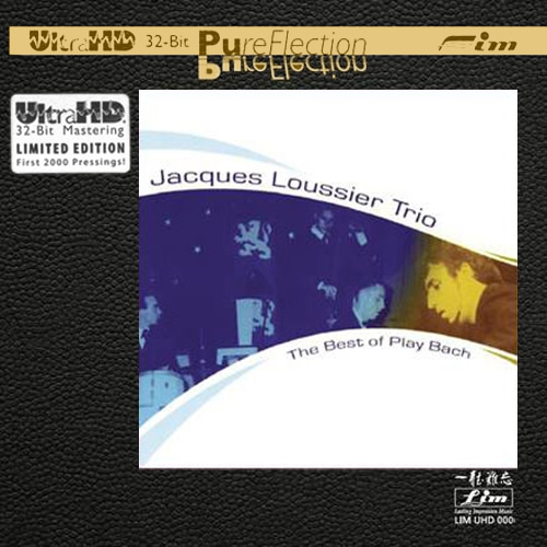JACQUES LOUSSIER TRIO – THE BEST OF PLAY BACH