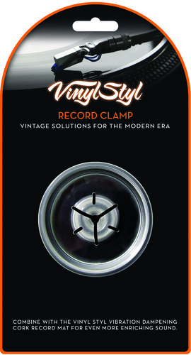 VYNYLSTYLRECORDCLAMP