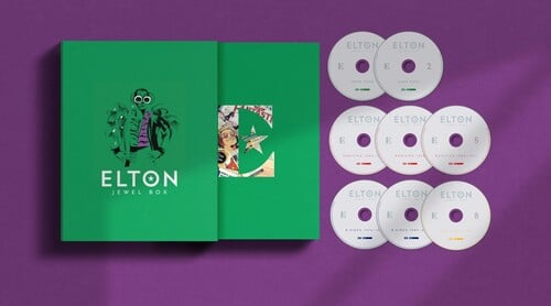 ELTON JOHN – JEWEL BOX (8CD) SUPER DELUXE – Musicland Chile