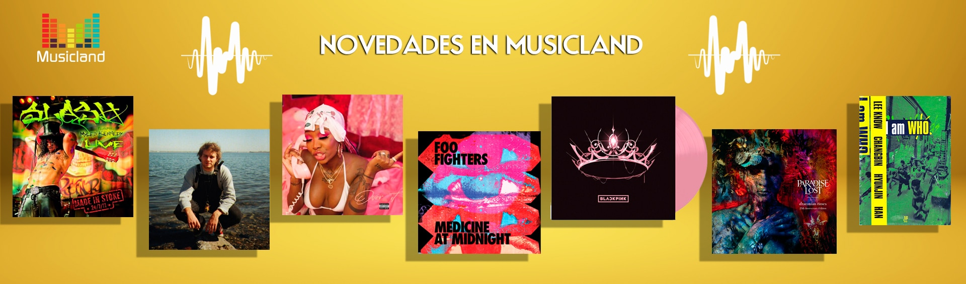 Banner Musicland